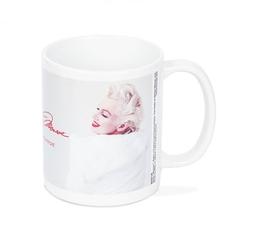 Marilyn monroe white fur - kubek