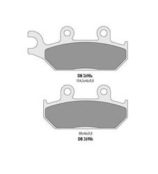 Klocki hamulcowe delta braking kh172 db2690mx-d