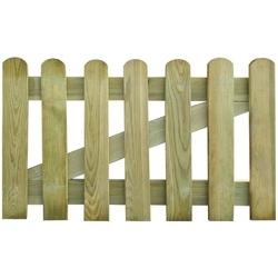 Vidaxl furtka ogrodowa, drewno, 100 x 60 cm