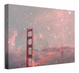 Stardust Covering San Francisco - obraz na płótnie