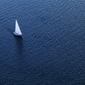Jacht - fototapeta