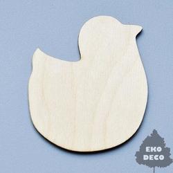 Drewniany magnes - kurczaczek - KUR