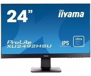 IIYAMA 24 XU2492HSU-B1  IPS,FLHD,HDMI,DP,USB.