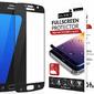 Szkło hartowane 3D Alogy na cały ekran Samsung Galaxy S7 czarne - Czarny