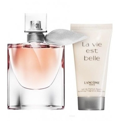 Set lancome la vie est belle w edp 50ml + blo 50ml