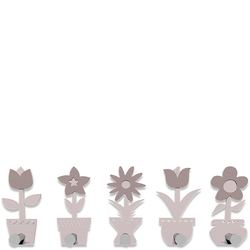 Wieszak ścienny Little Flowers CalleaDesign jasnoróżowy 13-003-31