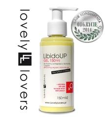 Żel ułatwiający orgazm dla kobiet - lovely lovers libidoup gel 150ml innovative formula