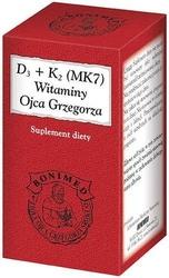 D3+k2 mk7 witaminy ojca grzegorza x 30 kapsułek