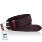 Brązowy pasek do spodni zamszowy miguel bellido casualsport 950-38-1485-53-004