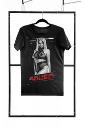 T-shirt men black : rozmiar - xxl