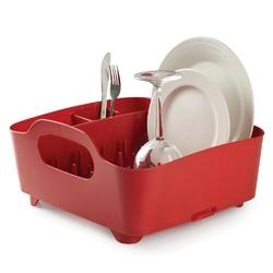 Umbra - ociekacz do naczyń tub - czerwony - czerwony