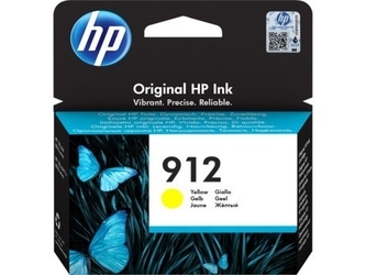 Hp inc. tusz 912 yellow ink 3yl79ae