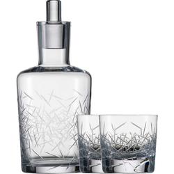 Karafka kryształowa i szklanki do whisky Hommage Glace Zwiesel SH-1361-05LG-SET