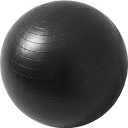 55cm Piłka Fitness gimnastyczna rehabilitacyjna Gorilla Sports czarna