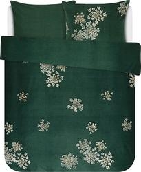 Pościel lauren zielona 240 x 220 cm z 2 poszewkami na poduszki 60 x 70 cm
