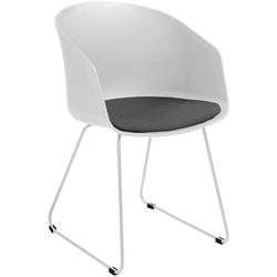 Krzesło moonlight 1 białeszare