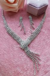 Biżuteria ślubna,  kolia na ślub