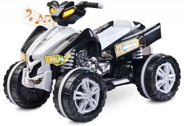 Toyz raptor czarny quad dla dziecka