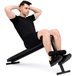 Ławka skośna do brzuszków sg-15 - smartgym fitness accessories