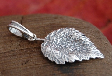 Listki - srebrny wisiorek srebrny wisiorek