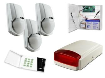 Alarm satel ca-4 led, 3xlc-100 pi, syg. zew. spl-5010r - szybka dostawa lub możliwość odbioru w 39 miastach