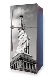 Foto naklejka na lodówkę statua wolności p34