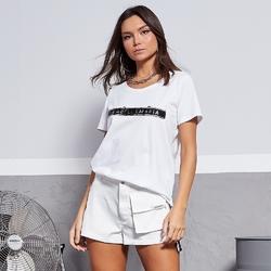 Koszulka damska labellamafia blouse white