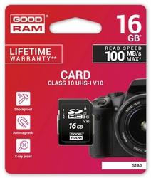 GOODRAM Karta SD 16GB Class 10 UHS I