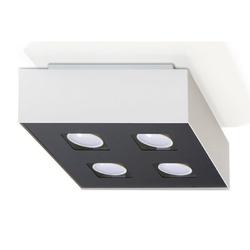 Sollux - plafon mono 4 - biały