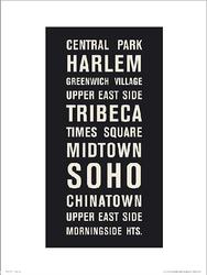 New York Places - plakat premium