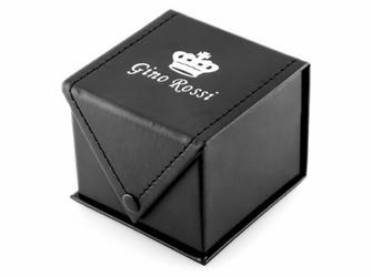 Prezentowe pudełko na zegarek - GINO ROSSI eko 2 CZARNE