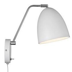 Nordlux :: lampa ścienna  kinkiet alexander biała wys. 28 cm
