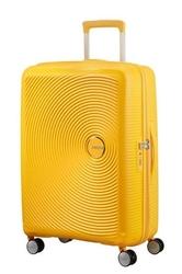 Walizka american tourister soundbox 67 cm powiększana - yellow