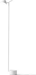 Lampa podłogowa peek biała
