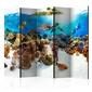 Parawan 5-częściowy - rafa koralowa room dividers