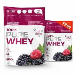 Iron Horse 100 Pure Whey 2000 + 500 - Forest Fruits  Forest Fruits