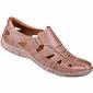 Buty męskie ażurowe na lato 1613 brązowe