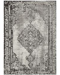 Dywan łatwoczyszczący w kwiaty altay silver 160x230 cm