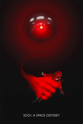 2001: Odyseja kosmiczna - plakat premium Wymiar do wyboru: 61x91,5 cm