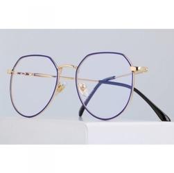 Okulary lenonki z filtrem światła niebieskiego do komputera zerówki 2537-3