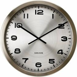 Zegar ścienny Maxie 50 cm srebrny