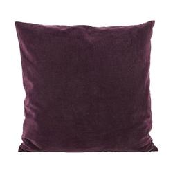 Poszewka na poduszkę Velv 50 x 50 cm oberżyna