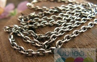 Antica - srebrny łańcuszek 50cm