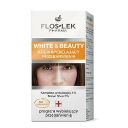 FLOSLEK WHITE  BEAUTY Krem wybielający przebarwienia 50ml