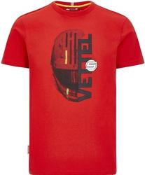 Koszulka dziecięca scuderia ferrari sebastian vettel