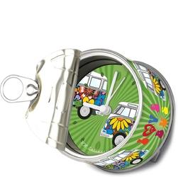 Zegarek stołowy puszka VW T1 Bus MyClock Flower BR-BUMC01