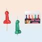 Świeczki Peniski na Tort – Kolorowe