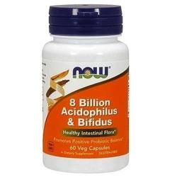 Now acidophilus  bifidus 8 billion - 60veg caps.