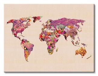Our wonderful world - obraz na płótnie