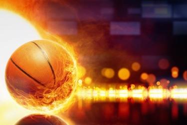 Fototapeta piłka do koszykówki 93a